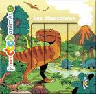 Couverture du livre « Les dinosaures » de Stephane Frattini et Stephanie Ledu et Vincent Caut aux éditions Milan