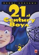 Couverture du livre « 21st century boys t.2 » de Urasawa-N aux éditions Panini