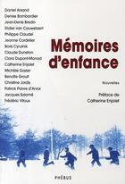 Couverture du livre « Mémoires d'enfance » de Catherine Enjolet aux éditions Phebus
