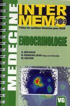 Couverture du livre « Endocrinologie (édition 2009) » de Collectif aux éditions Vernazobres Grego