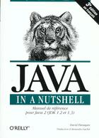 Couverture du livre « Java In A Nustshell » de David Flanagan aux éditions O Reilly France