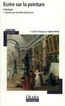 Couverture du livre « Ecrire sur la peinture » de Collectif aux éditions Gallimard