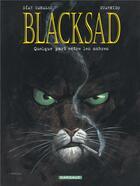 Couverture du livre « BLACKSAD ; Blacksad T.1 ; quelquepart entre les ombres » de Juan Diaz Canales et Juanjo Guarnido aux éditions Dargaud