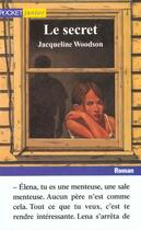 Couverture du livre « Le Secret » de Jacqueline Woodson aux éditions Pocket Jeunesse