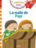 Couverture du livre « Sami et julie cp niveau 1 la malle de papi » de Therese Bonte aux éditions Hachette Education