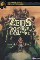 Couverture du livre « Zeus à la conquête de l'Olympe » de Helene Montardre aux éditions Nathan