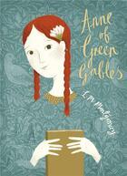 Couverture du livre « Anne of green gables » de Lucy Maud Montgomery aux éditions Children Pbs