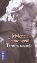Couverture du livre « Tiroirs Secrets » de Mylene Demongeot aux éditions Pocket