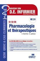 Couverture du livre « Pharmacologie et thérapeutiques » de Catherine Leroux et Yvan Touitou aux éditions Era Grego