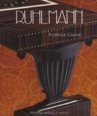 Couverture du livre « Ruhlmann » de Camard. Florenc aux éditions Monelle Hayot