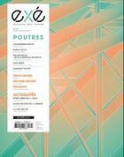 Couverture du livre « Exe n 34 poutres decembre/janvier/fevrier 2018-2019 » de Collectif aux éditions Architectures A Vivre