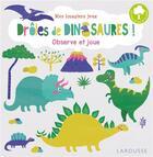 Couverture du livre « Drôles de dinosaures » de Collectif aux éditions Larousse