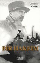 Couverture du livre « Bir Hakeim » de Jacques Mordal aux éditions Laville