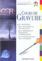 Couverture du livre « Cours De Gravure » de Rigal aux éditions De Vecchi