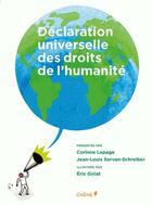 Couverture du livre « Déclaration universelle des droits de l'humanité illustrée » de Collectif aux éditions Chene
