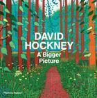 Couverture du livre « David hockney a bigger picture » de David Hockney aux éditions Thames & Hudson