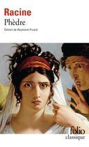 Couverture du livre « Phèdre » de Jean Racine aux éditions Gallimard
