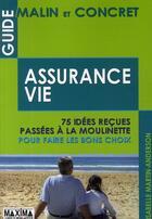 Couverture du livre « Guide malin et concret de l'assurance vie » de Isabelle Martin-Anderson aux éditions Maxima Laurent Du Mesnil