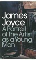 Couverture du livre « A portrait of the artist as a young man » de James Joyce aux éditions Adult Pbs