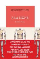 Couverture du livre « À la ligne ; feuillets d'usine » de Joseph Ponthus aux éditions Table Ronde