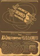 Couverture du livre « Die kakausener gemeine ; sonntagsbeigabe der zeitung für kakausen und umgebung » de Dieter Roth aux éditions Incertain Sens