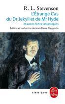 Couverture du livre « L'étrange cas du Dr Jekyll et de Mr Hyde » de Robert Louis Stevenson aux éditions Lgf