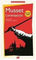 Couverture du livre « Lorenzaccio » de Alfred De Musset aux éditions Flammarion
