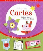 Couverture du livre « Cartes ; faire-part et billets doux » de Fifi Mandirac aux éditions Le Temps Apprivoise