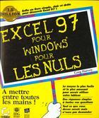 Couverture du livre « Excel 97 P.Windows P.Les Nuls » de Daniel Tauber aux éditions Sybex