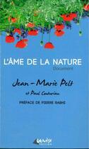 Couverture du livre « L'âme de la nature » de Jean-Marie Pelt et Paul Couturiau aux éditions Genese