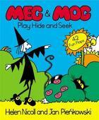 Couverture du livre « MEG AND MOG PLAY HIDE-AND-SEEK - POP-UP & LIFT THE FLAP BOOKS » de Nicoll & Pienkowski aux éditions Children Pbs