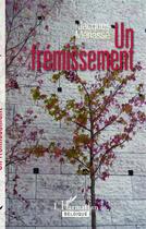 Couverture du livre « Frémissement » de Jacques Menasse aux éditions Academia