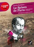 Couverture du livre « Le spleen de Paris » de Charles Baudelaire aux éditions Hatier