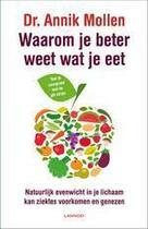 Couverture du livre « Waarom je beter weet wat je eet » de Annik Mollen aux éditions Uitgeverij Lannoo