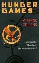 Couverture du livre « Hunger games T.1 » de Suzanne Collins aux éditions 12-21