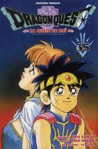 Couverture du livre « Dragon quest - la quête de Daï T.35 » de Riku Sanjo et Koji Inada aux éditions Delcourt