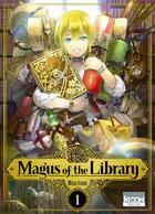 Couverture du livre « Magus of the library T.1 » de Mitsu Izumi aux éditions Ki-oon