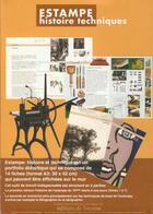 Couverture du livre « Estampe ; histoire, techniques » de Marc Jurt et Nicole Minder et Kym Staiff aux éditions Tricorne