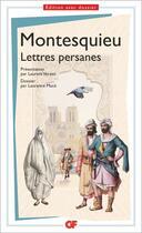 Couverture du livre « Lettres persanes » de Montesquieu aux éditions Flammarion