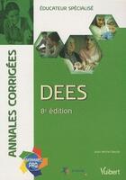 Couverture du livre « DEES annales corrigées (8e édition) » de Jean-Michel Baude aux éditions Vuibert