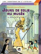 Couverture du livre « Jour de folie au musée ; la déesse du Nil se venge » de Viviane Koenig aux éditions Oskar