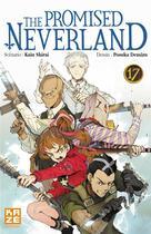 Couverture du livre « The promised Neverland T.17 » de Posuka Demizu et Kaiu Shirai aux éditions Kaze