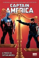 Couverture du livre « Captain America T.8 ; le procès de Captain America » de Mitch Breitweiser et Ed Brubaker et Chris Samnee et Jackson Guice aux éditions Panini