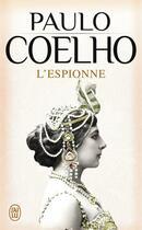 Couverture du livre « L'espionne » de Paulo Coelho aux éditions J'ai Lu