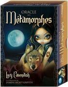 Couverture du livre « Oracle des métamorphes ; coffret » de Lucy Cavendish aux éditions Exergue