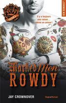 Couverture du livre « Marked men T.5 ; Rowdy » de Jay Crownover aux éditions Hugo Roman