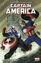 Couverture du livre « Captain America T.5 ; la fèche du temps » de Collectif et Ed Brubaker aux éditions Panini
