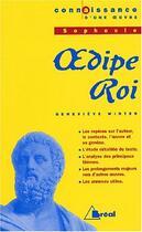 Couverture du livre « Oedipe-roi, de Sophocle » de Genevieve Winter aux éditions Breal