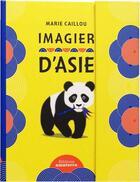 Couverture du livre « Imagier d'asie » de Marie Caillou aux éditions Amaterra