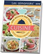 Couverture du livre « Cuisine, 1 recette par jour (édition 2019) » de Delphine Paslin aux éditions Editions 365